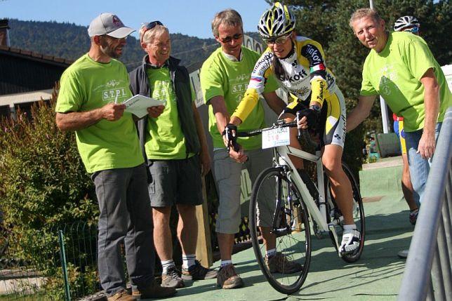 Bergzeitfahren Saint Maurice - Ballon d'Alsace (13.09.2009)